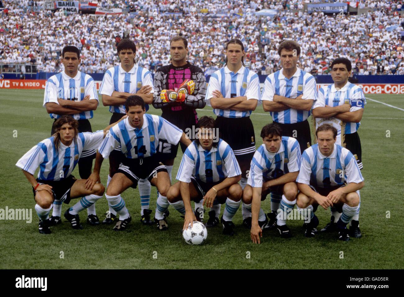 Soccer - World Cup USA 1994 - Group D - Argentina v ...