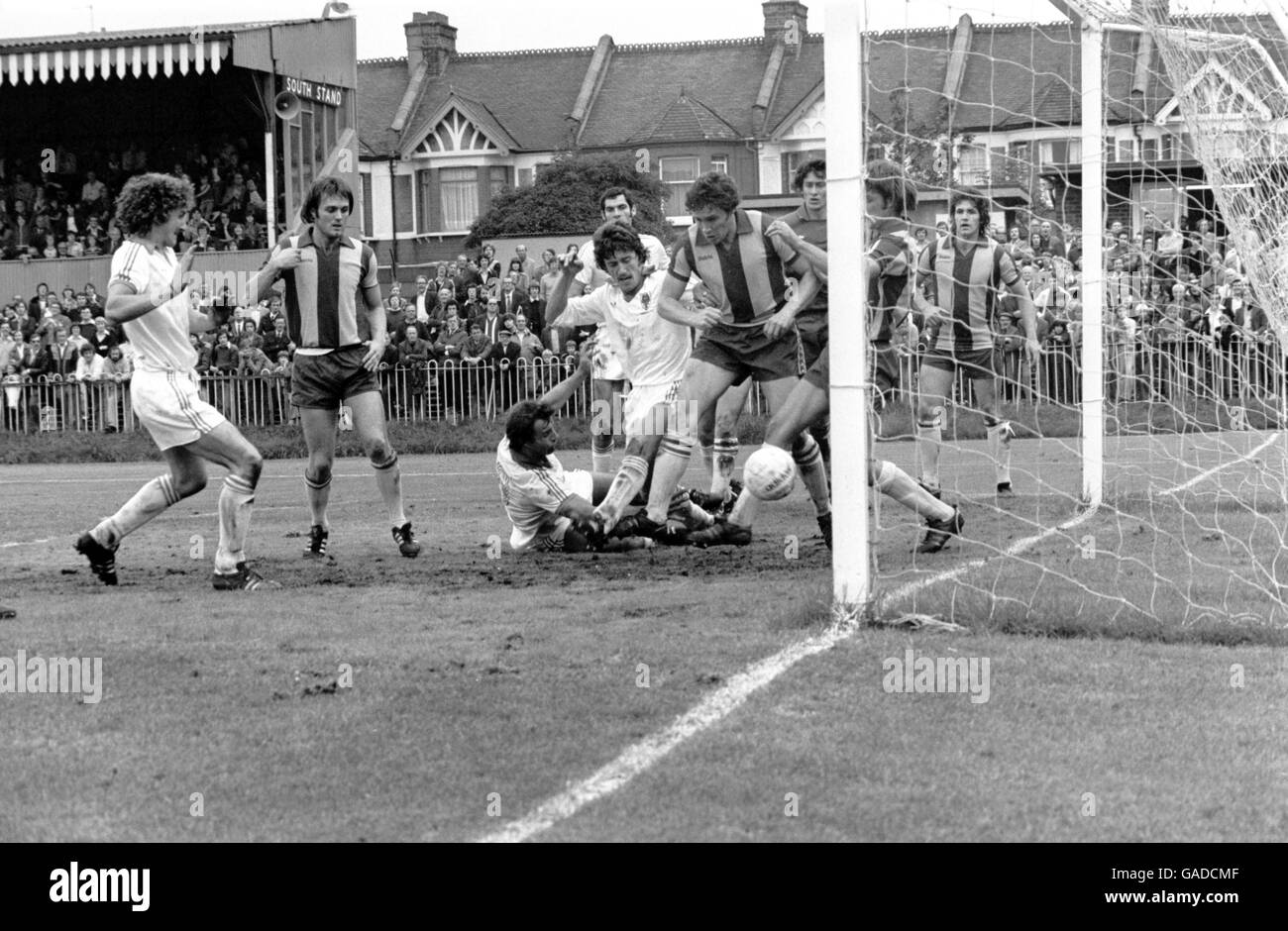 Soccer - Football League Division Four - Wimbledon v Halifax Town - Stock Image
