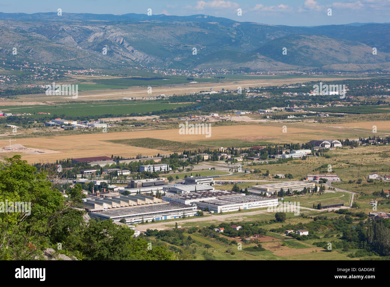 Mostar, Bosnia-Herzegovina.  Intera Technological Park. - Stock Image
