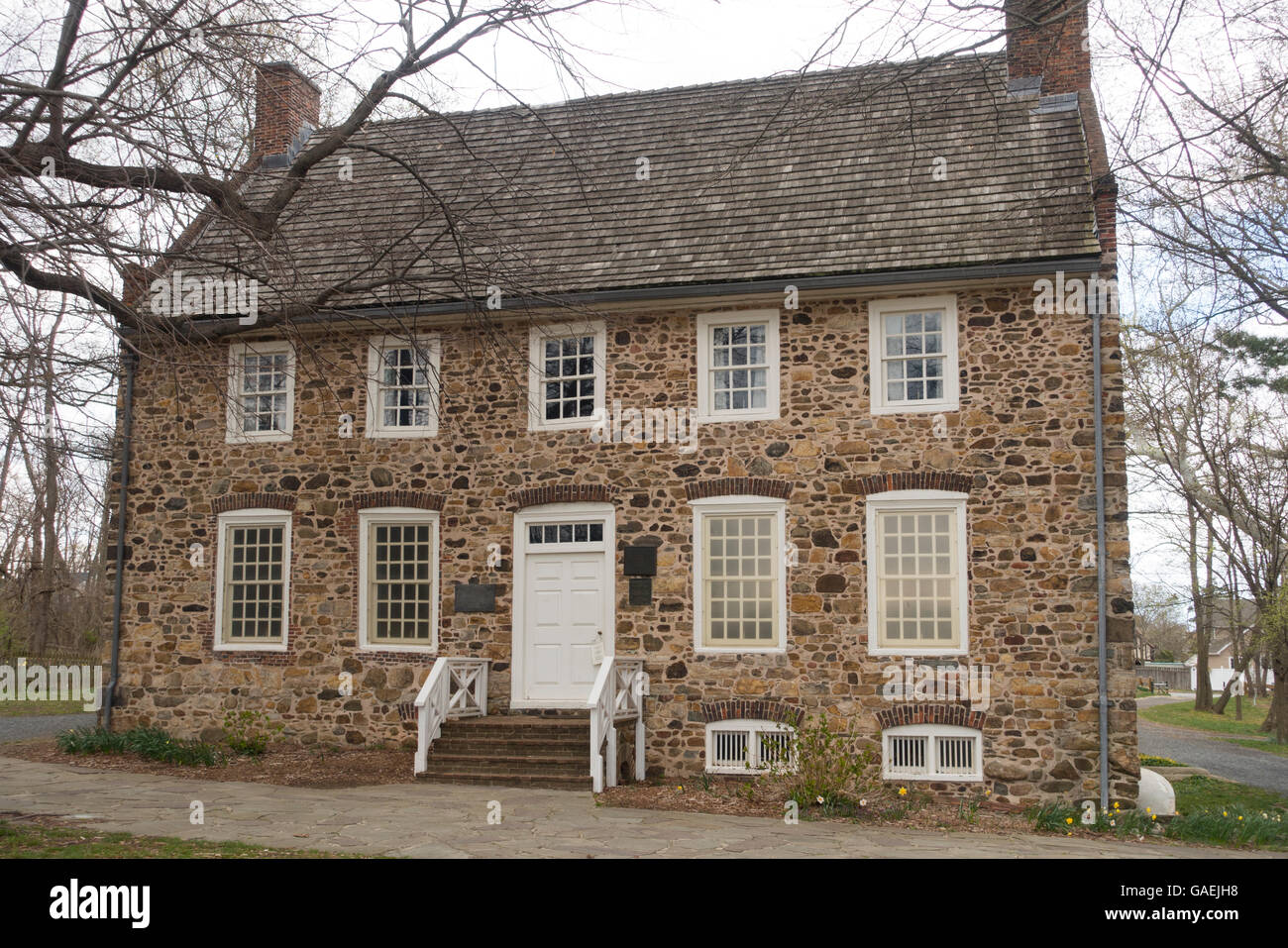 The Conference House On Staten Island: Billop House Stock Photos & Billop House Stock Images