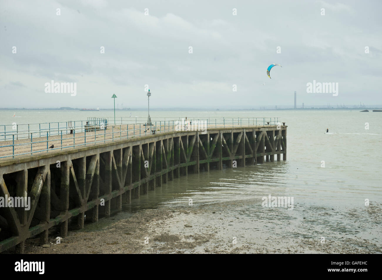 Seaside at Southend-on-Sea. Essex.UK Stock Photo