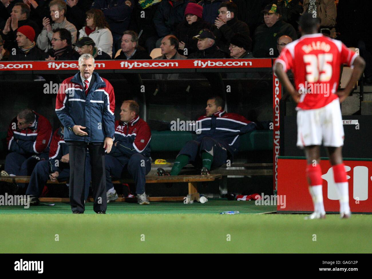Soccer - Coca-Cola Football League Championship - Norwich City v Charlton Athletic - Carrow Road - Stock Image