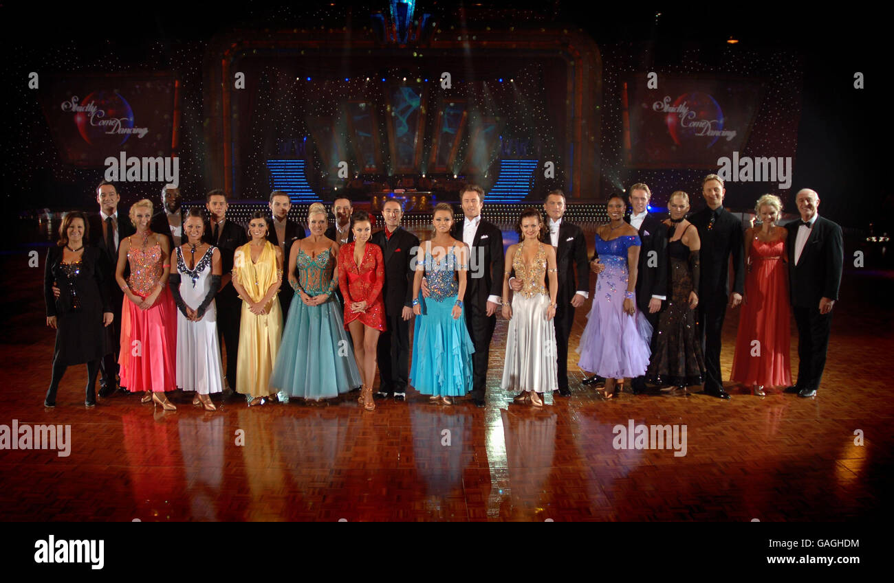 Strictly Come Dancing Live! final dress rehearsal - Glasgow - Stock Image