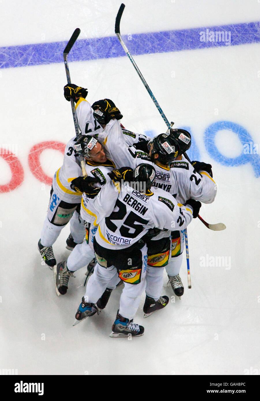 Ice Hockey Cup Final Nottingham Stock Photos Amp Ice Hockey