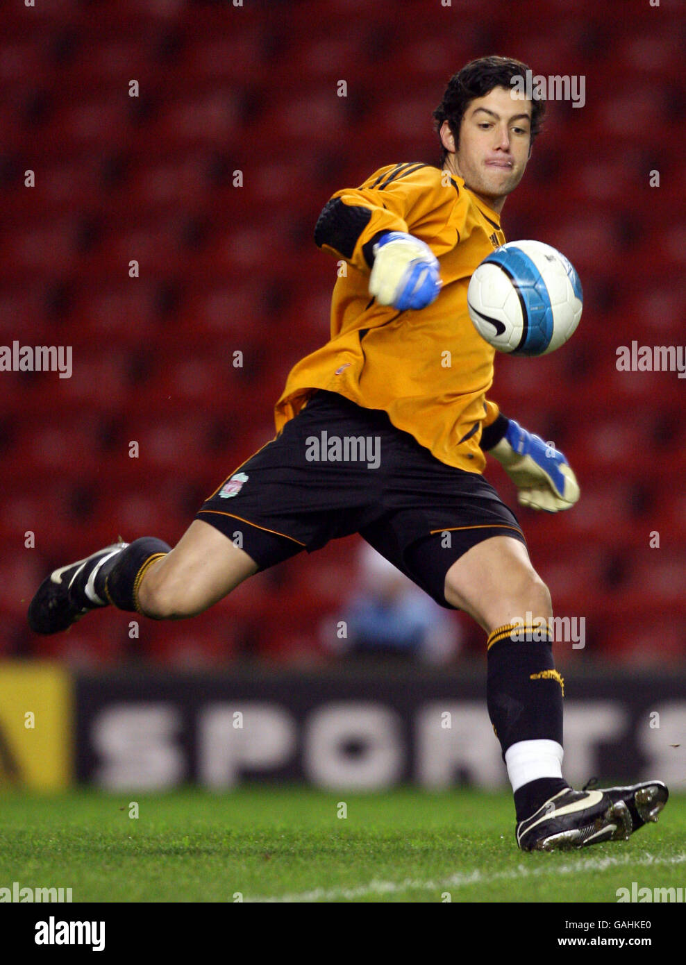 Soccer - FA Youth Cup - Fourth Round - Liverpool v Arsenal - Anfield - Stock Image