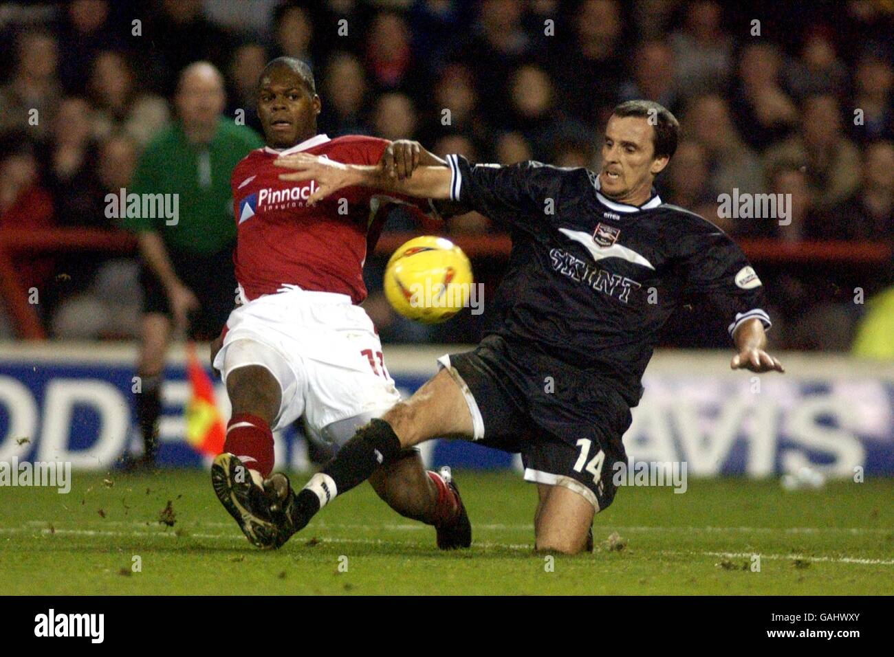 Soccer - Nationwide League Division One - Nottingham Forest v Brighton and Hove Albion Stock Photo