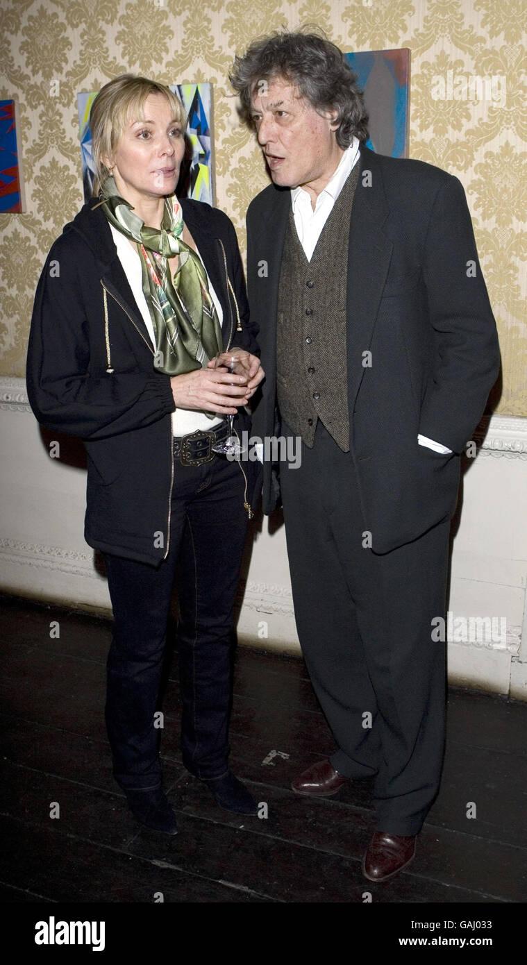 Being Harold Pinter Reception - London - Stock Image