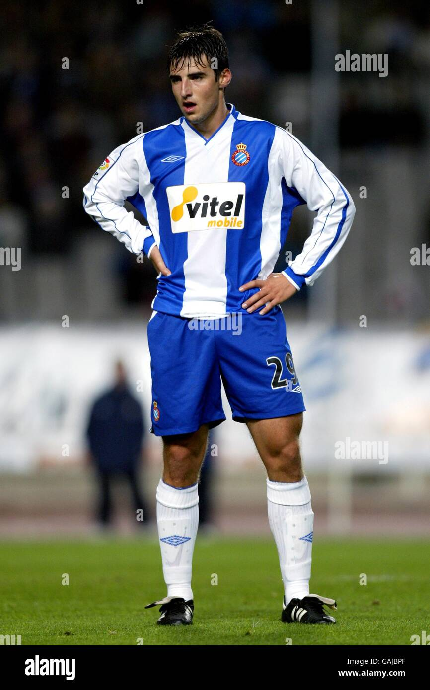 Soccer - Spanish Primera Liga - Espanyol v Real Betis - Stock Image
