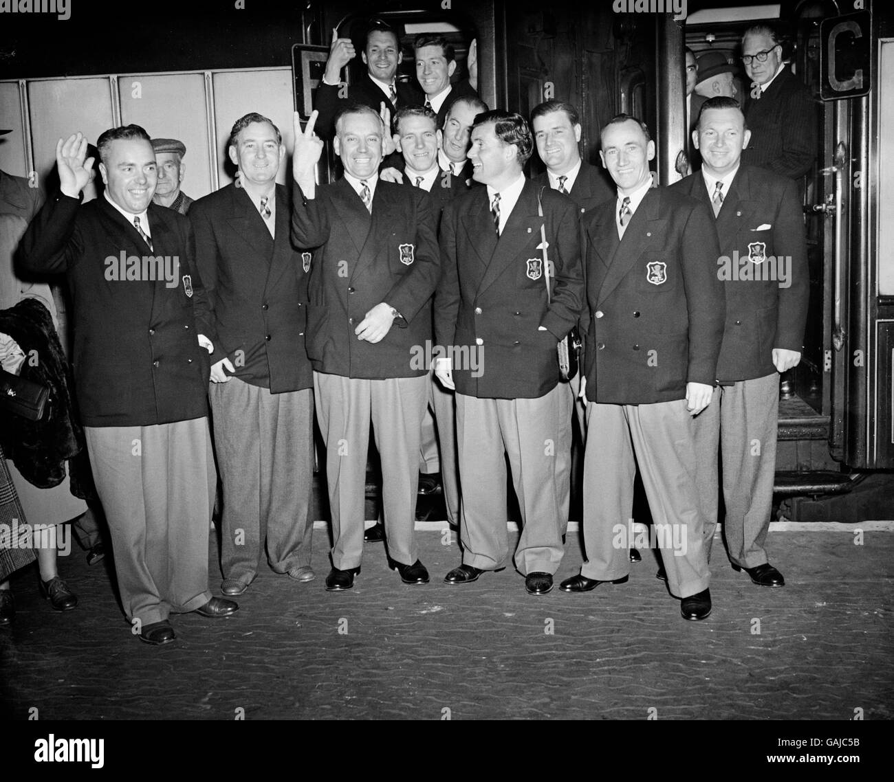 Golf - Ryder Cup 1951 - Waterloo Station - Stock Image