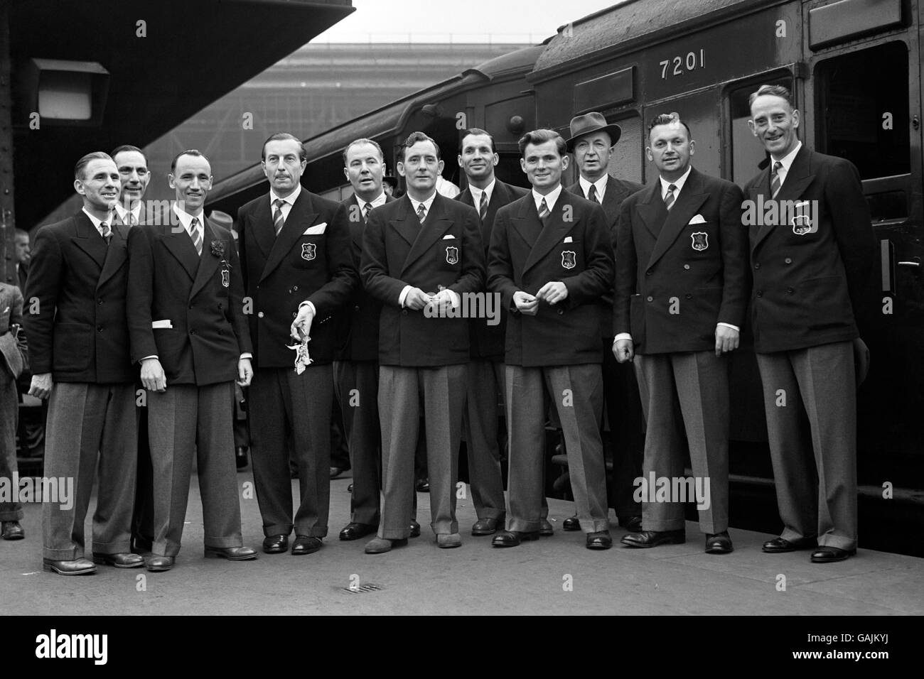 Golf - Ryder Cup 1947 - Waterloo Station - Stock Image