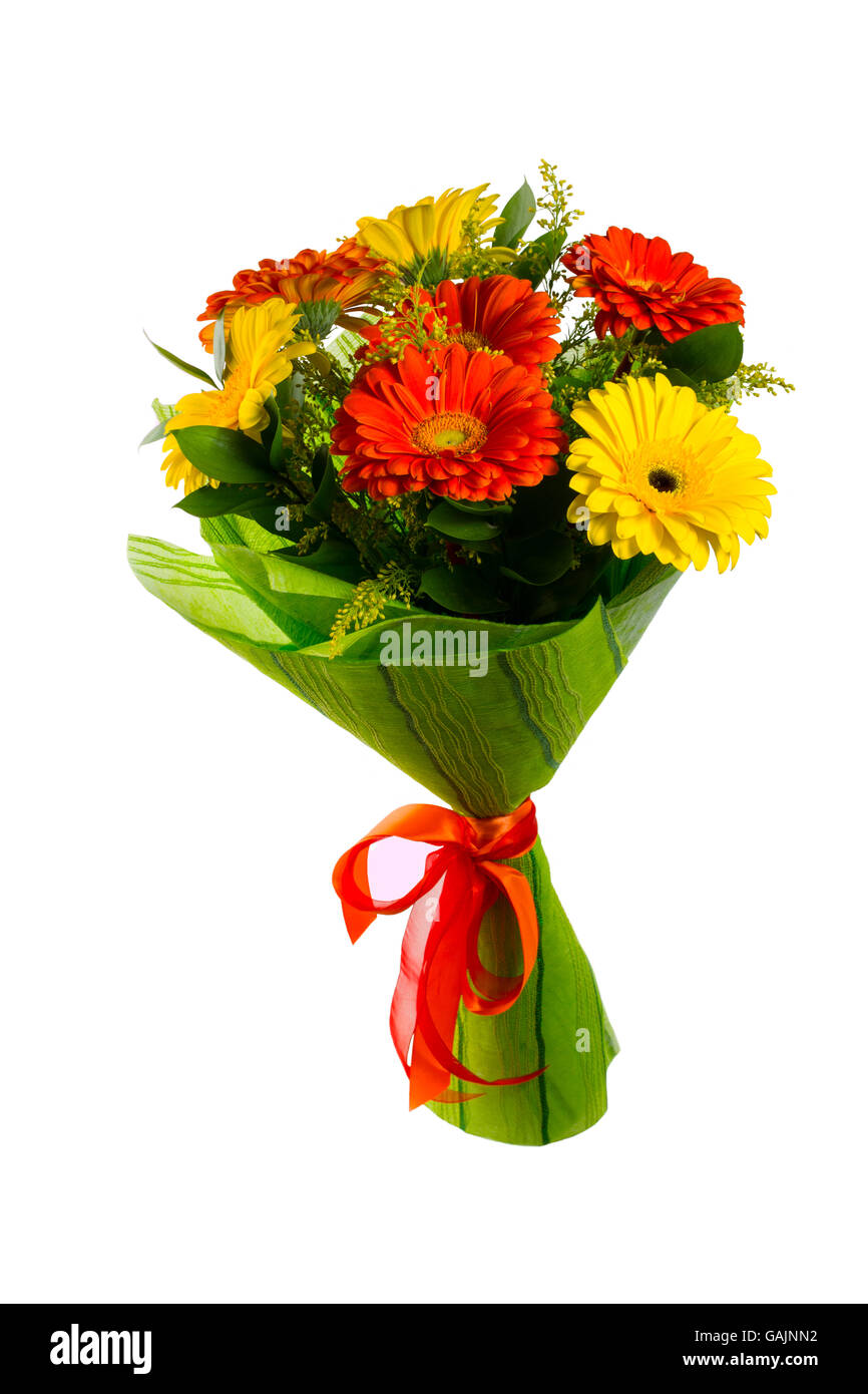 Red and yellow flower bouquet isolated on white greeting background red and yellow flower bouquet isolated on white greeting background flowers greeting card greeting card happy mothers day mightylinksfo