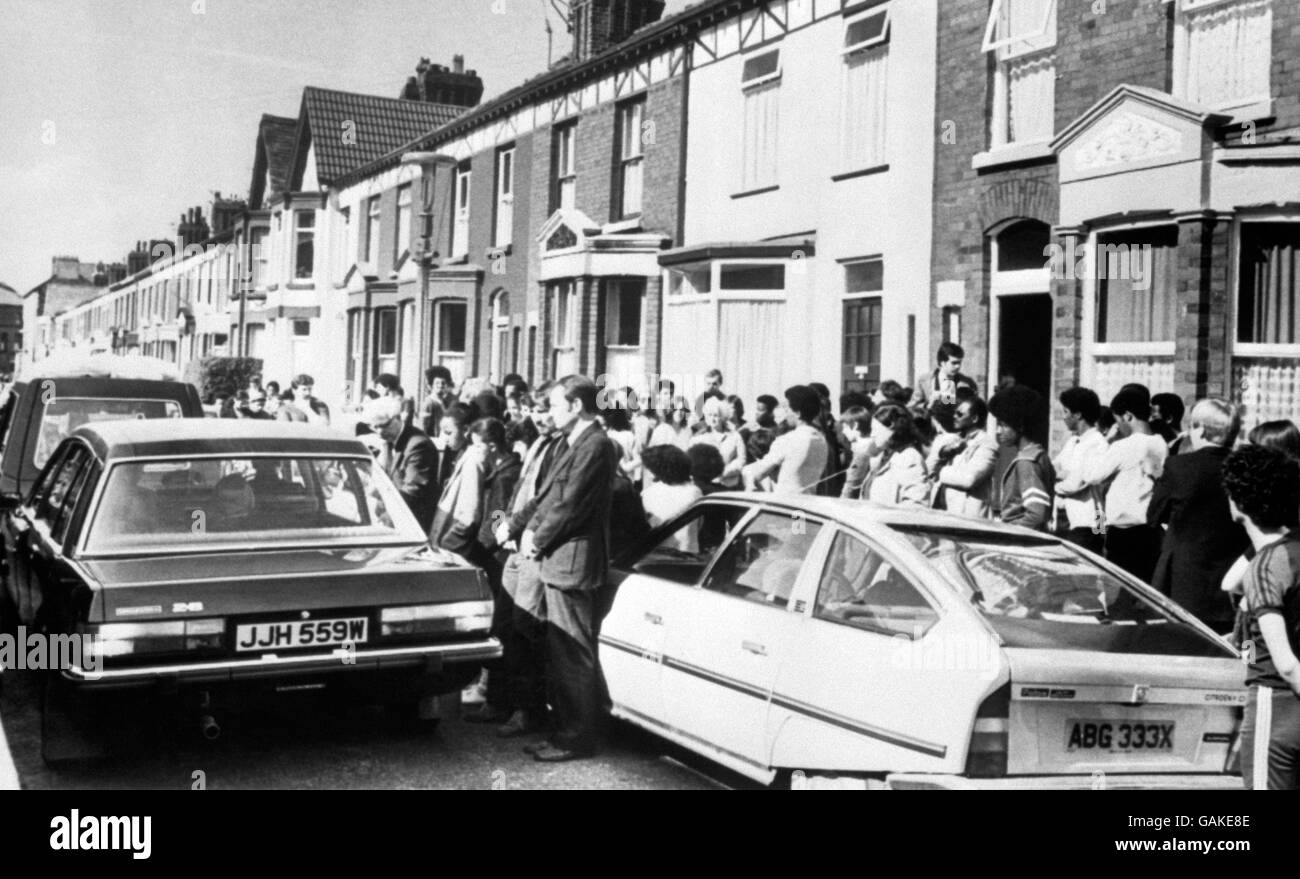 British Crime - Civil Disturbance - The Toxteth Riots