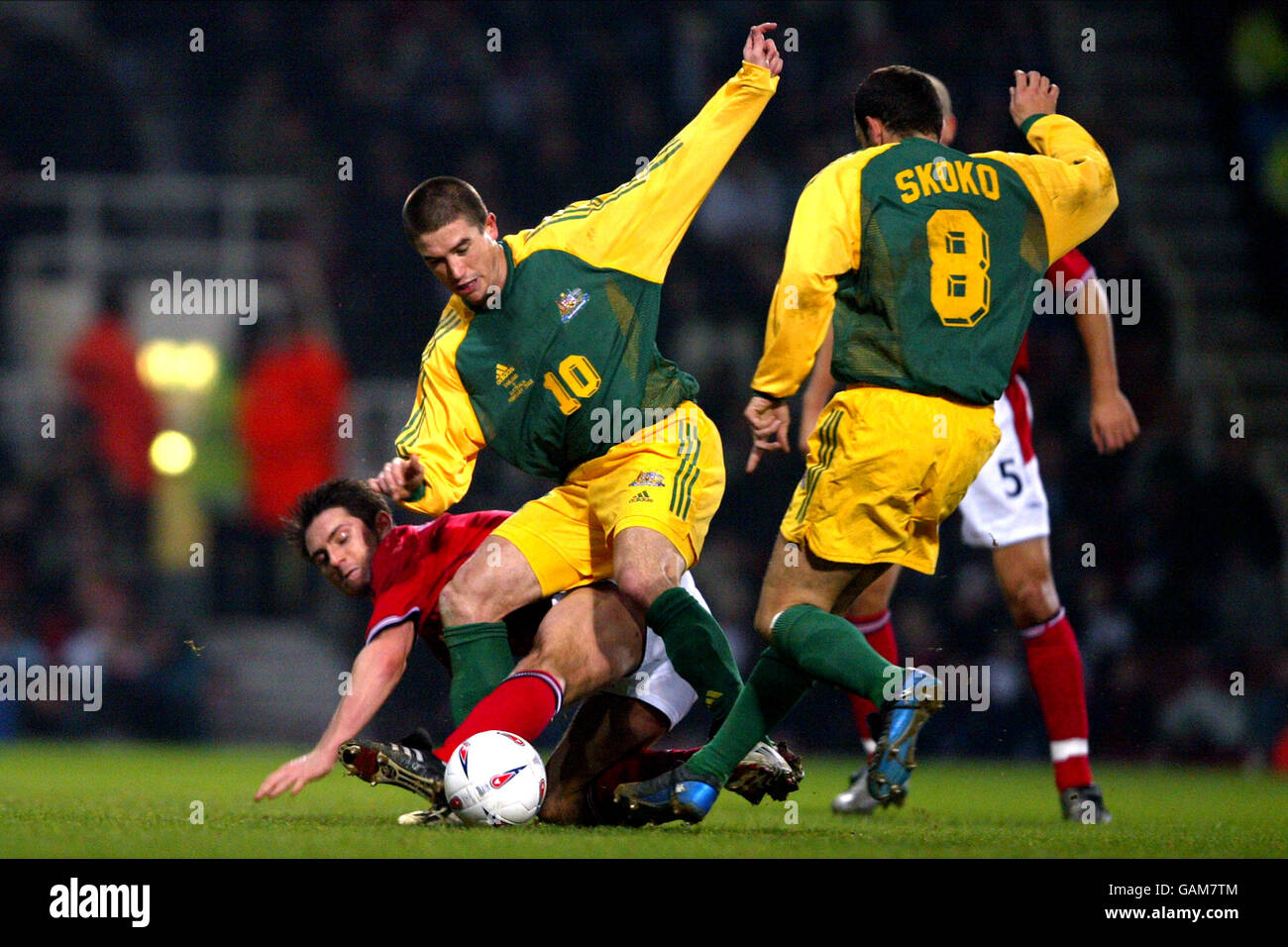 Soccer - International Friendly - England v Australia Stock Photo
