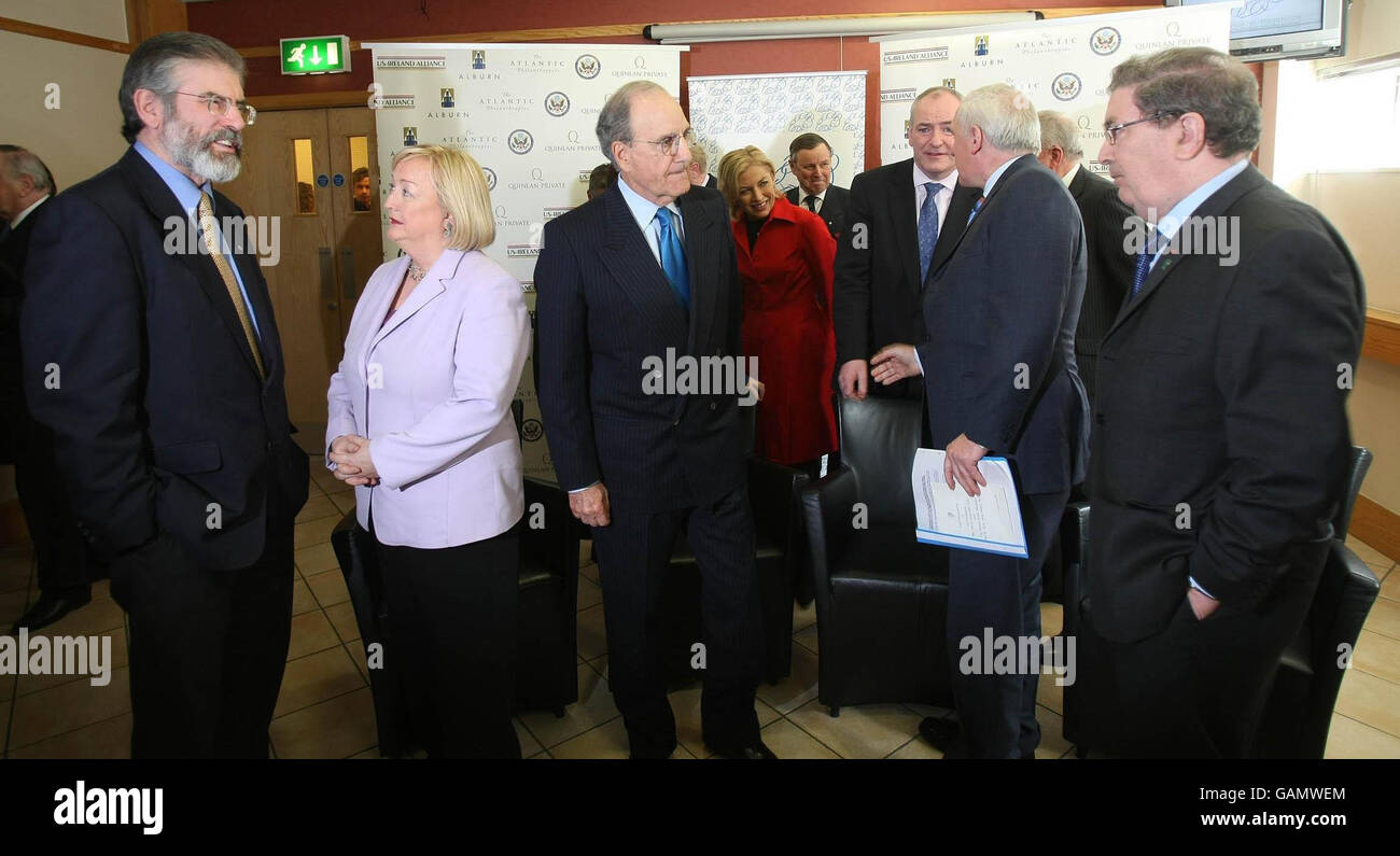 10th anniversary of The Good Friday Agreement - Stock Image