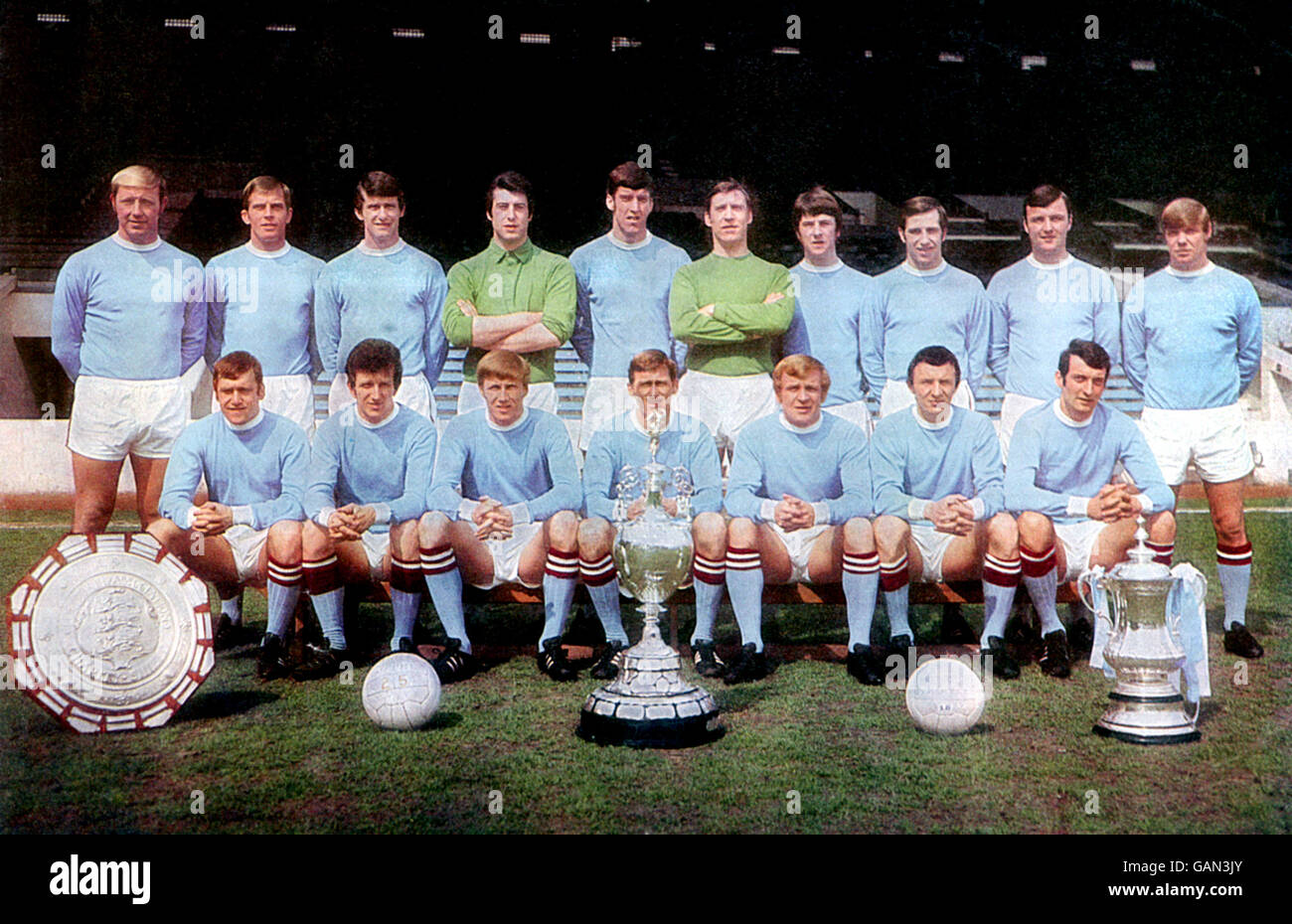 Soccer - Football League Division One - Manchester City Photocall Stock Photo