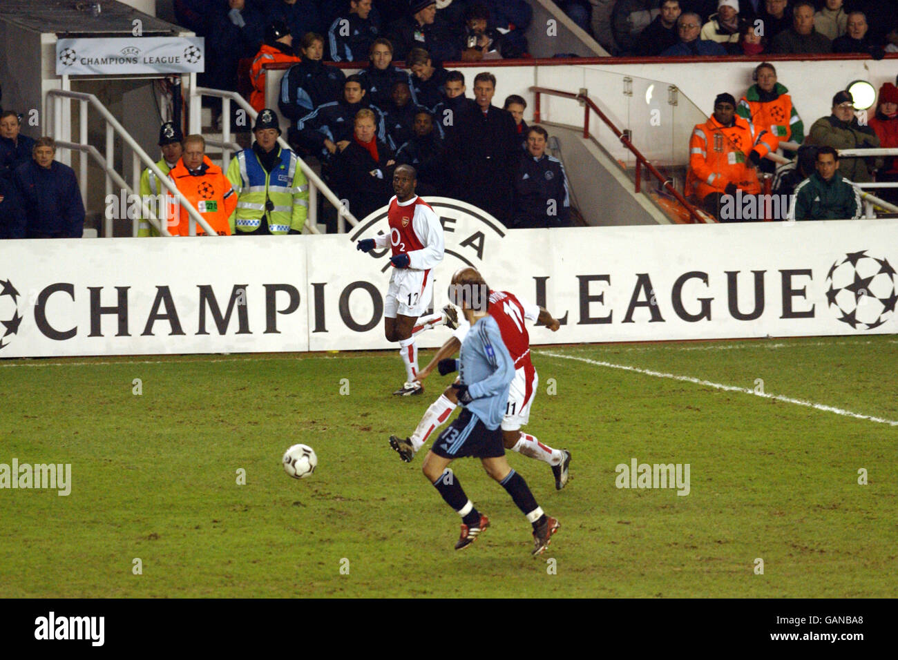 Soccer - UEFA Champions League - Group B - Arsenal v Ajax - Stock Image
