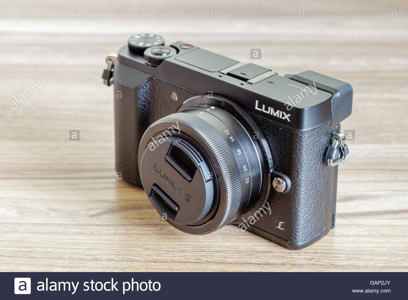 panasonic lumix gx85 - Stock Image