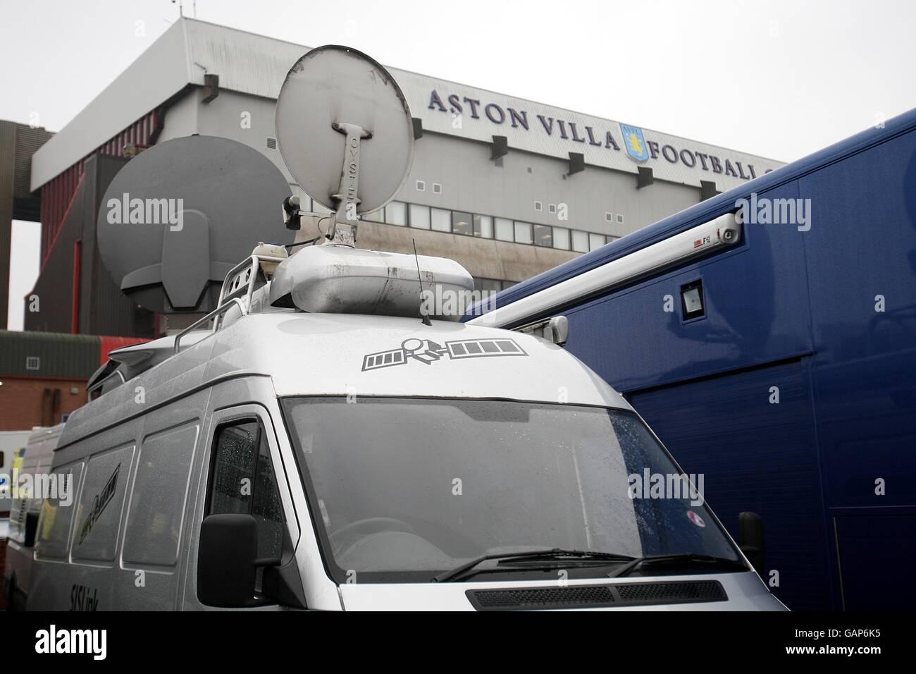 Soccer - Barclays Premier League - Aston Villa v Birmingham City - Villa Park - Stock Image