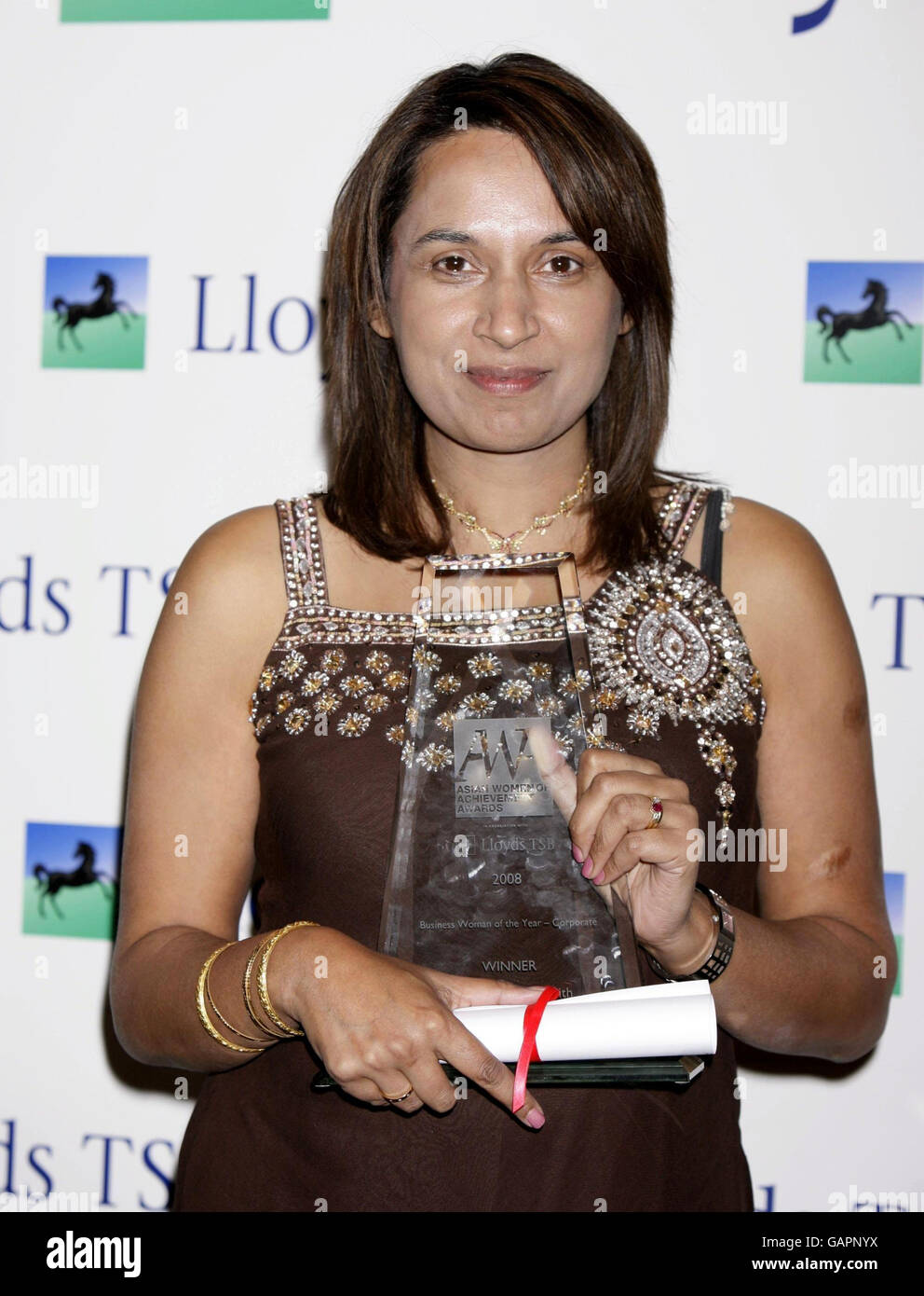 Asian Women Of The Year Awards - London - Stock Image