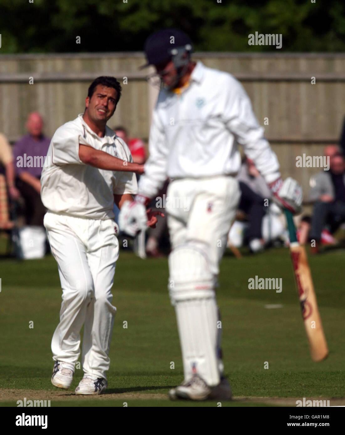 Cricket - Cheltenham & Gloucester Trophy - Third Round - Staffordshire v Surrey - Stock Image