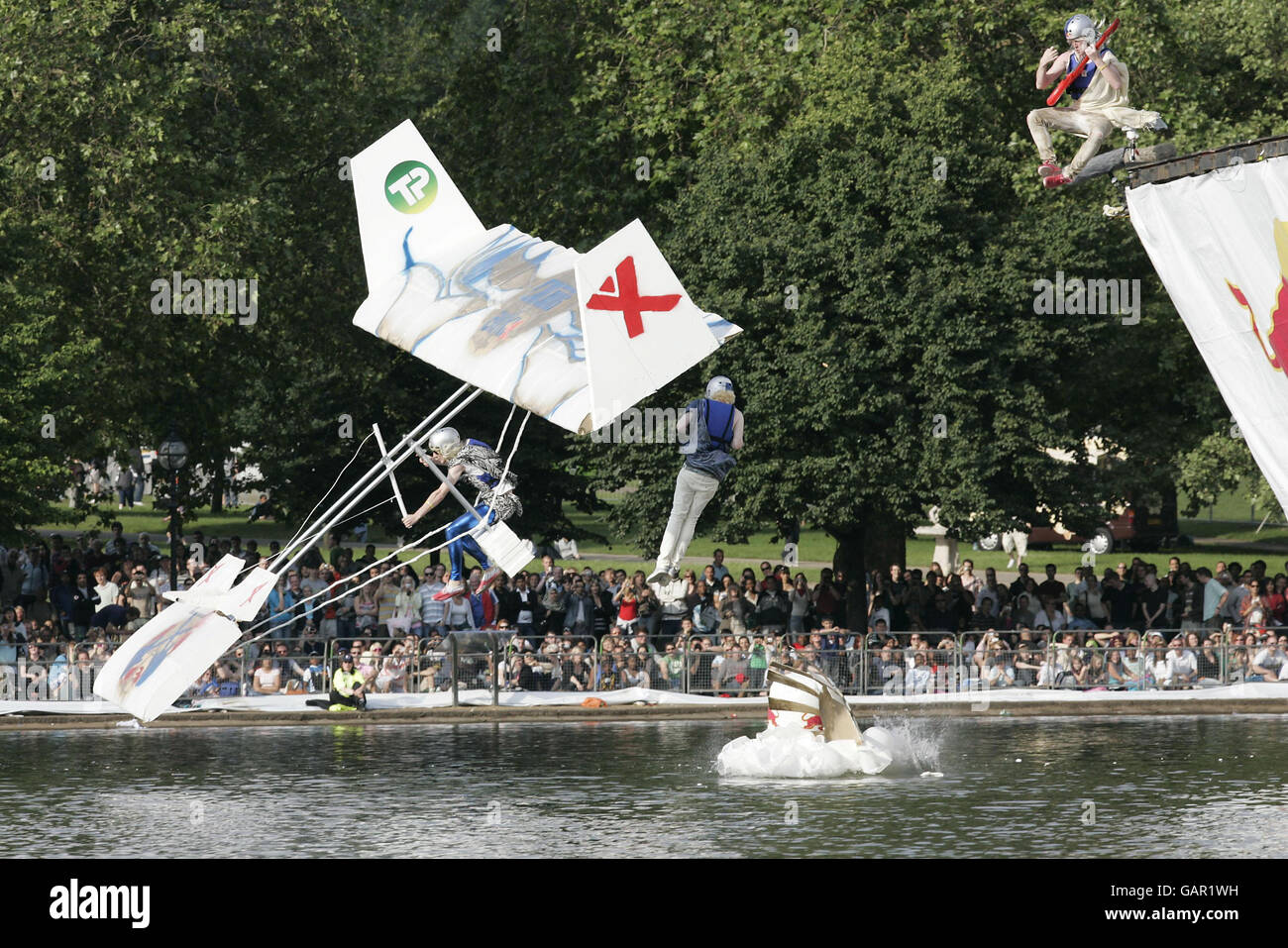 Red Bull Flugtag London - Stock Image