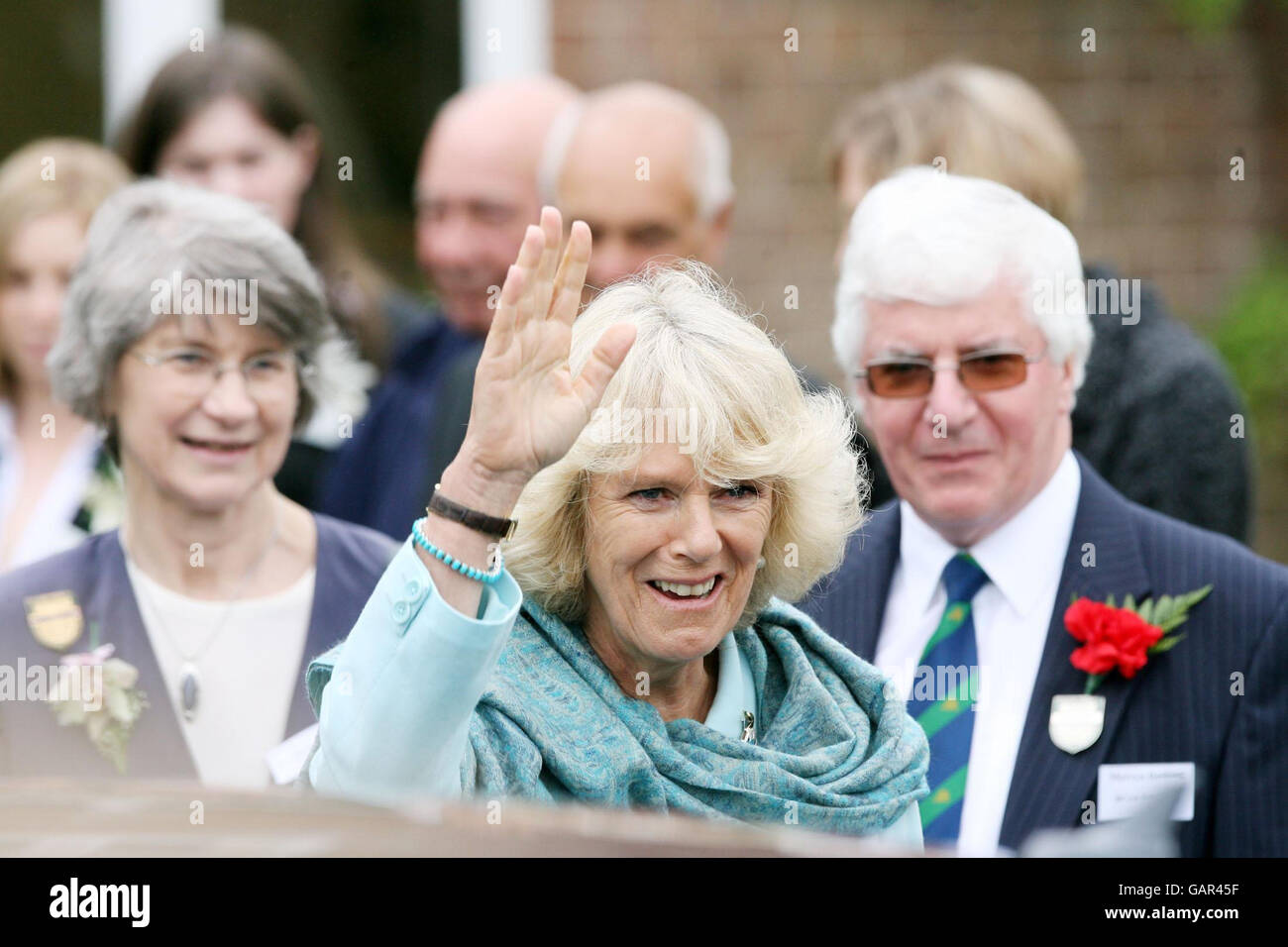 The Duchess of Cornwall visits the Devon County Show - Stock Image