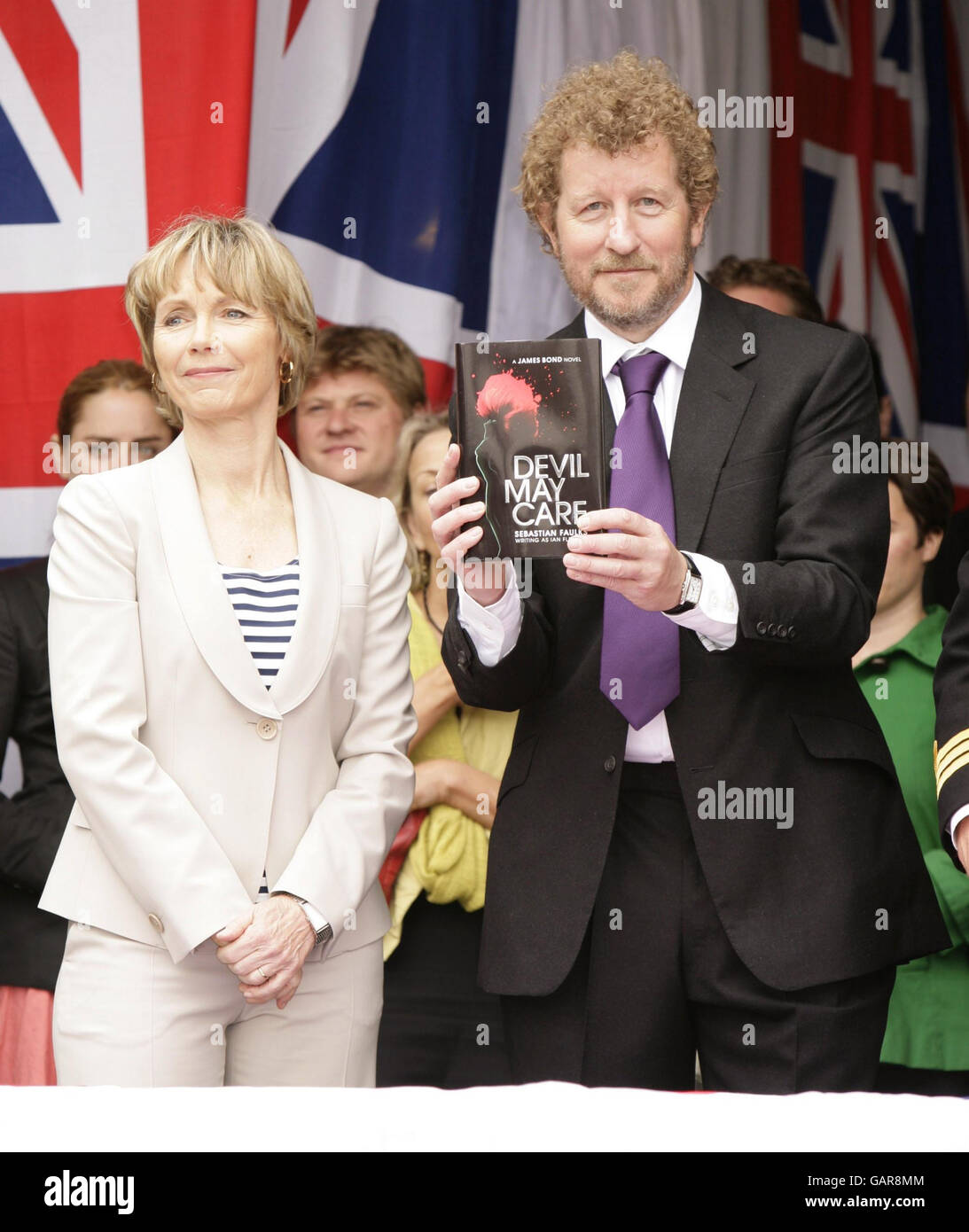 Launch of new James Bond novel - London Stock Photo