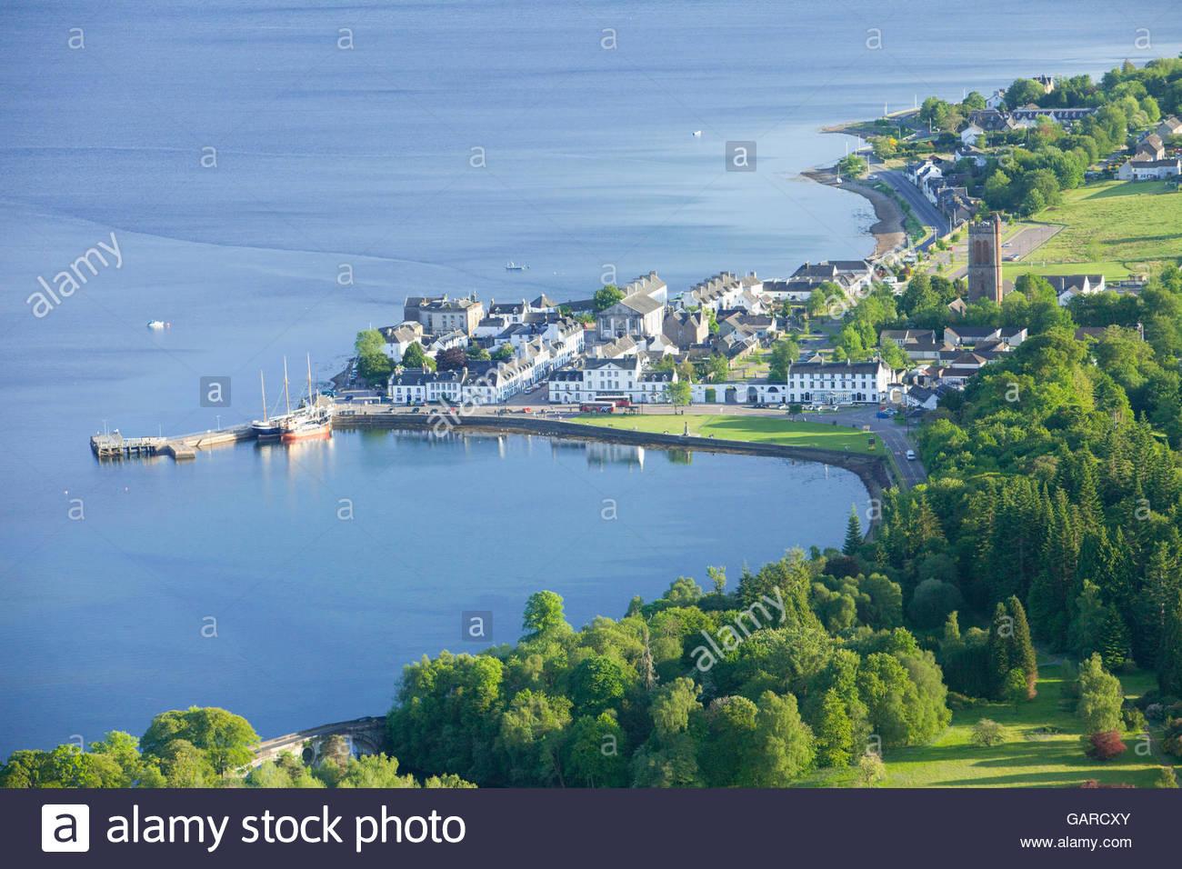 Scottish Coastal Town Stock Photos & Scottish Coastal Town Stock