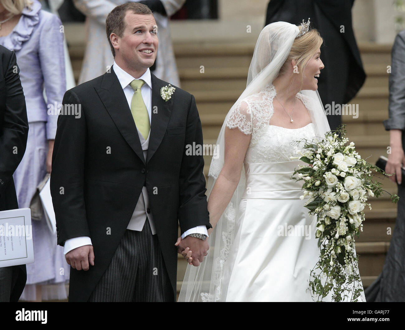Royalty - Peter Phillips and Autumn Kelly Wedding