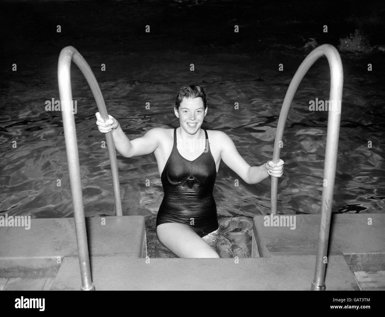 Swimming - Melbourne Olympic Games 1956 - Stock Image