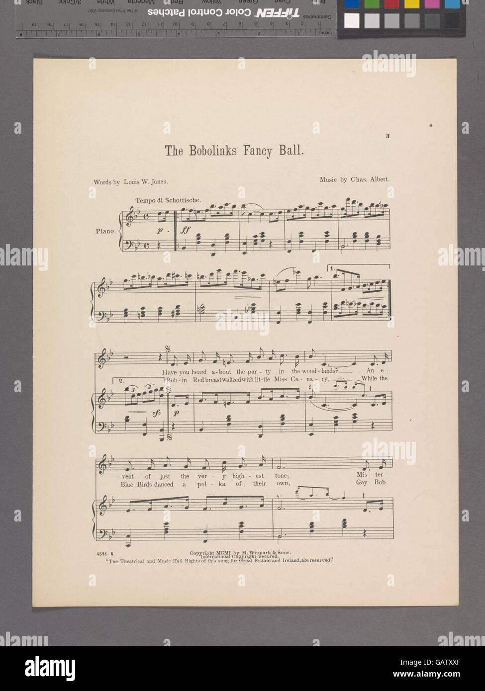 The bobolinks fancy ball ( Hades-1924973-1953240) - Stock Image