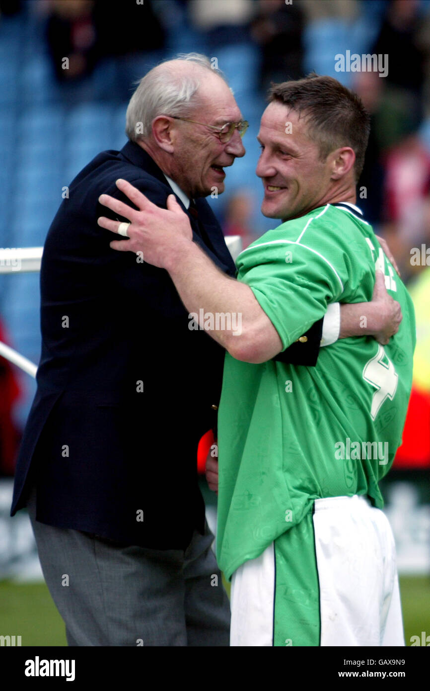 Soccer - FA Trophy - Final - Burscough v Tamworth - Stock Image