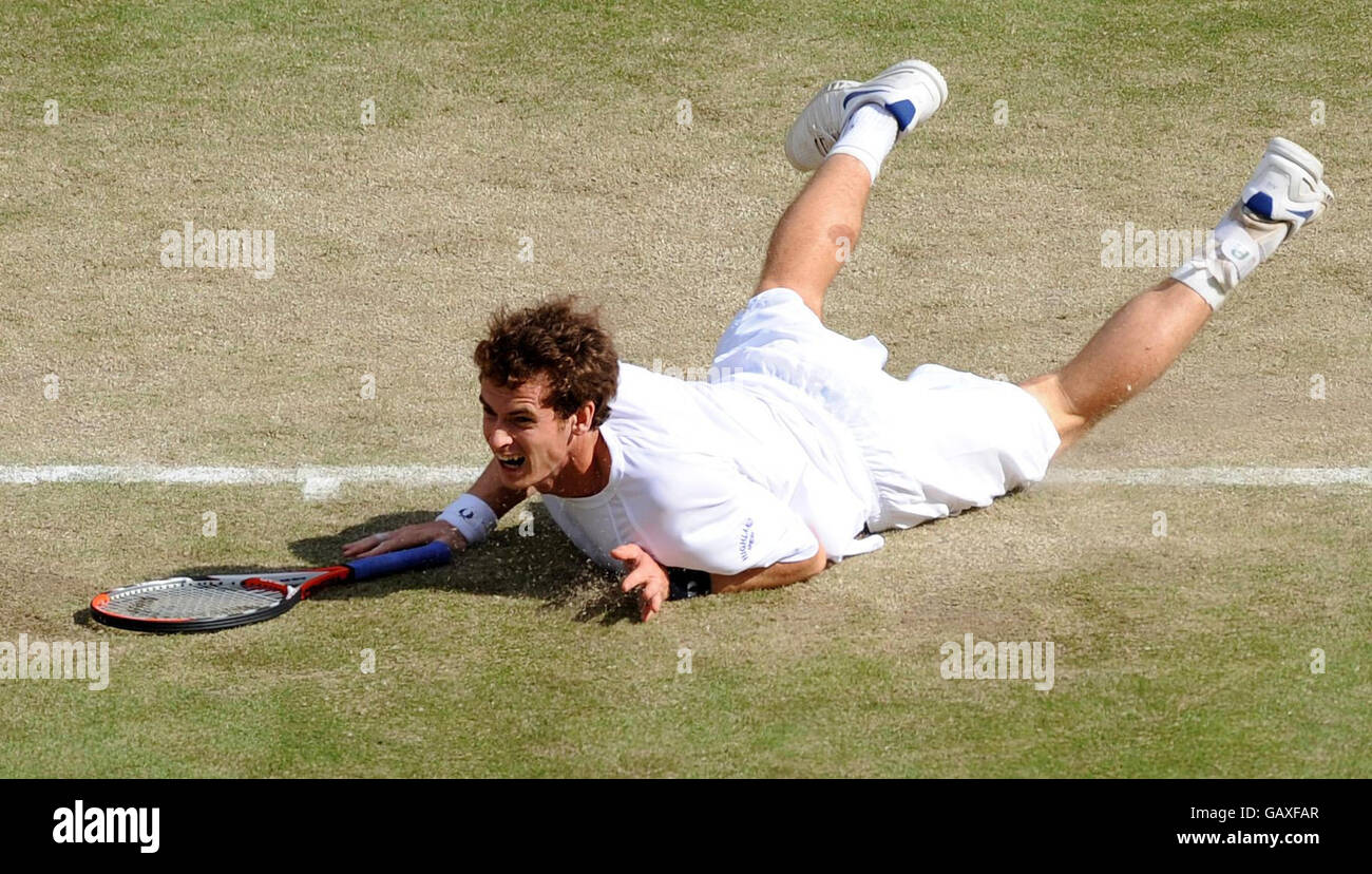 Tennis - Wimbledon Championships 2008 - Day Six- The All England Club - Stock Image