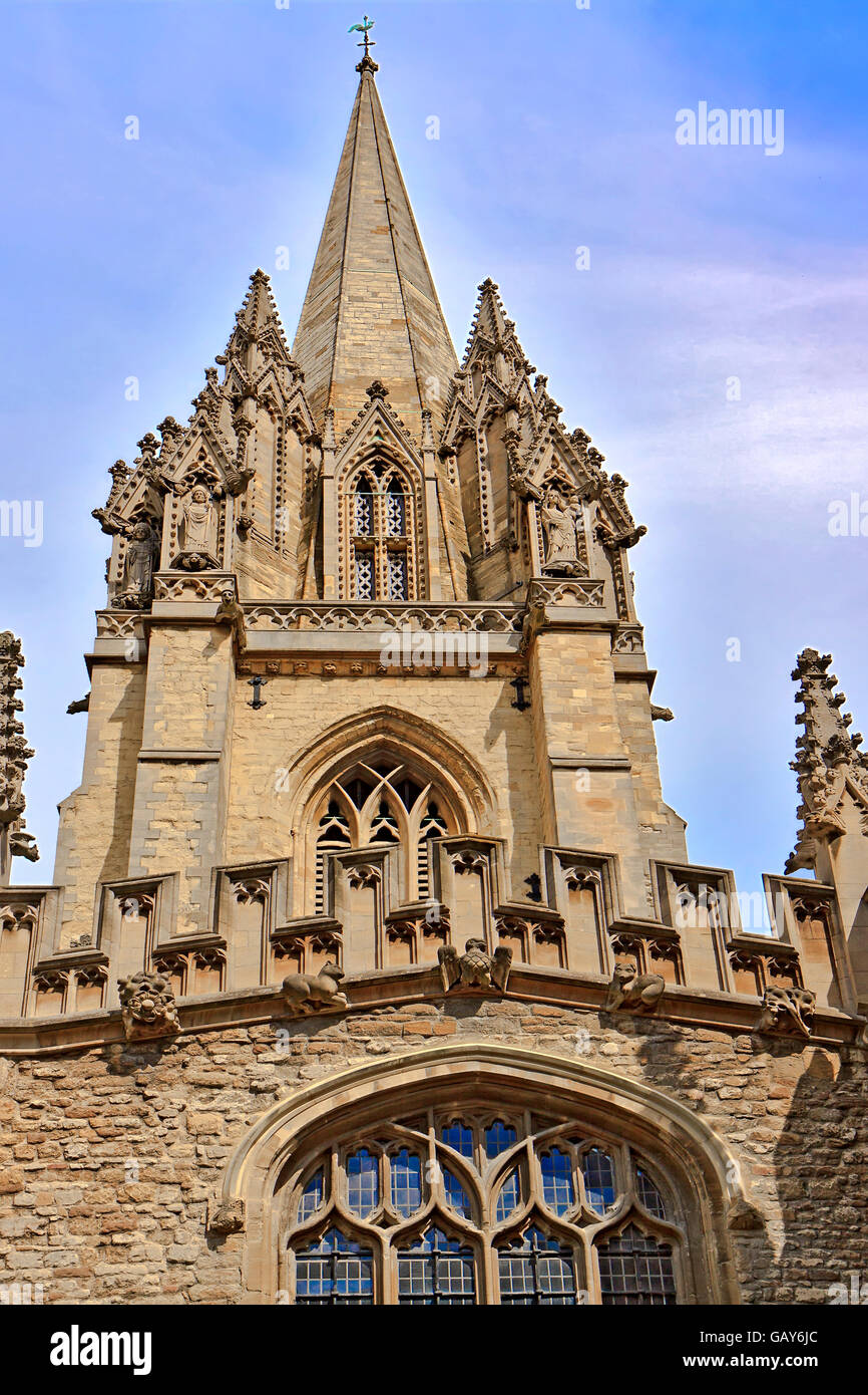 St. Mary The Virgin Church Oxford UK - Stock Image