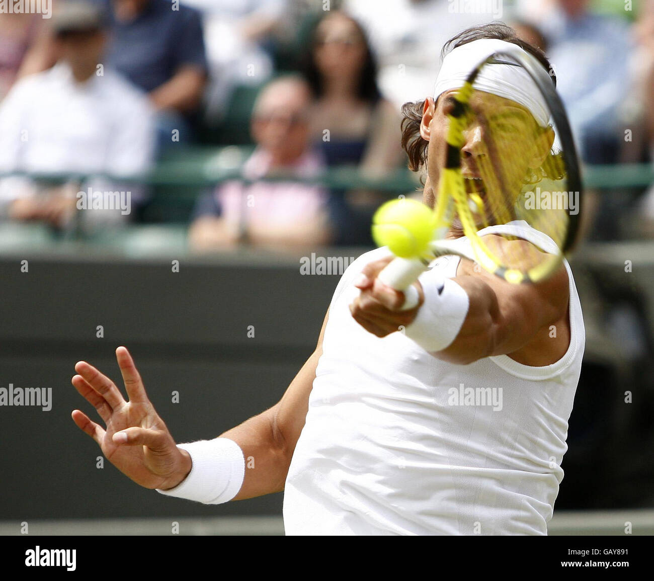 Tennis - Wimbledon Championships 2008 - Day Four - The All England Club - Stock Image