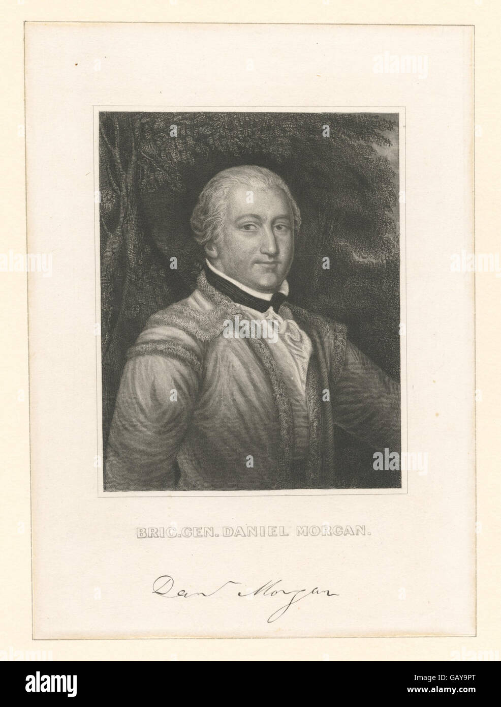 brigadier general daniel morgan