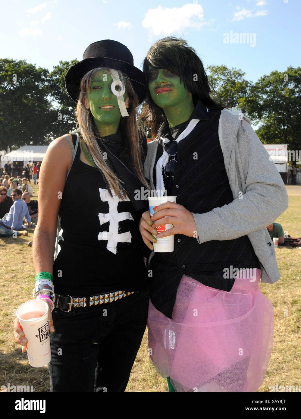 The Mighty Boosh Festival - Kent - Stock Image