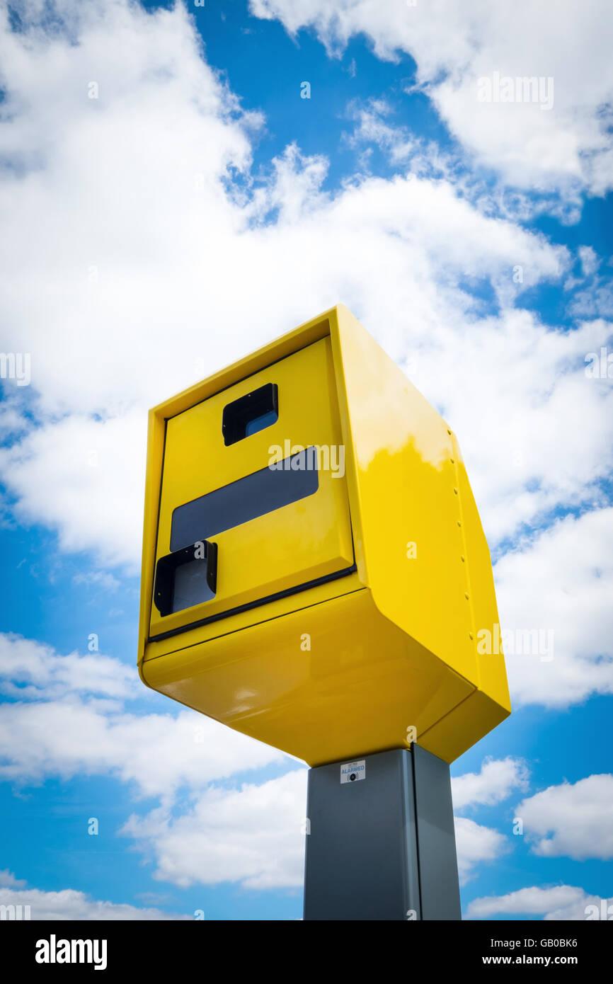 Digital Speed Camera in Southampton, Hampshire, UK - Stock Image