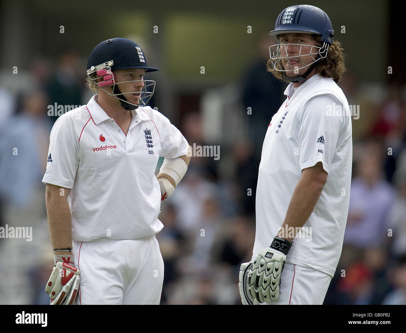 Cricket - npower First Test - Day Two - England v South Africa - Lord's - Stock Image