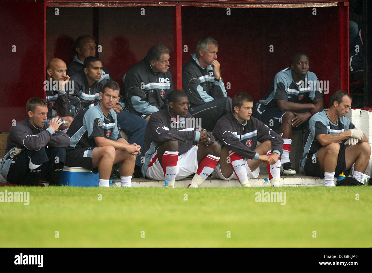 Soccer - Friendly - Welling United v Charlton Athletic - Park View Road - Stock Image