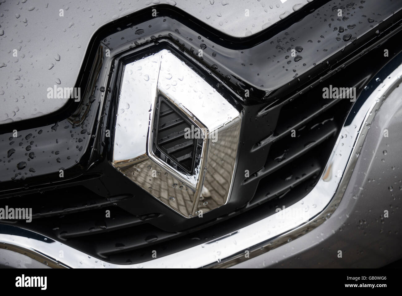 Renault Badge Stock Photos Renault Badge Stock Images Alamy
