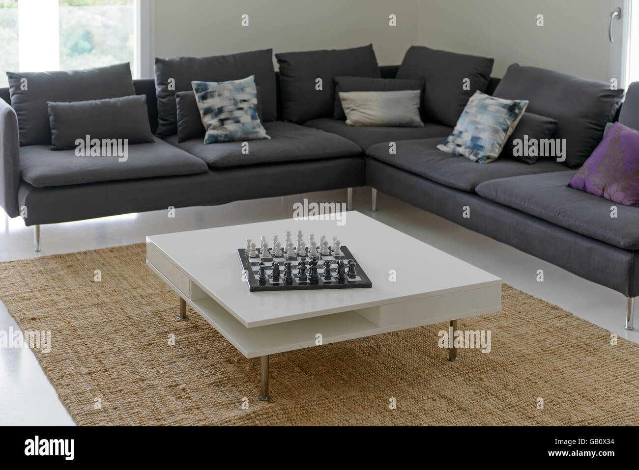 L Shaped Sofa Stock Photos L Shaped Sofa Stock Images Alamy