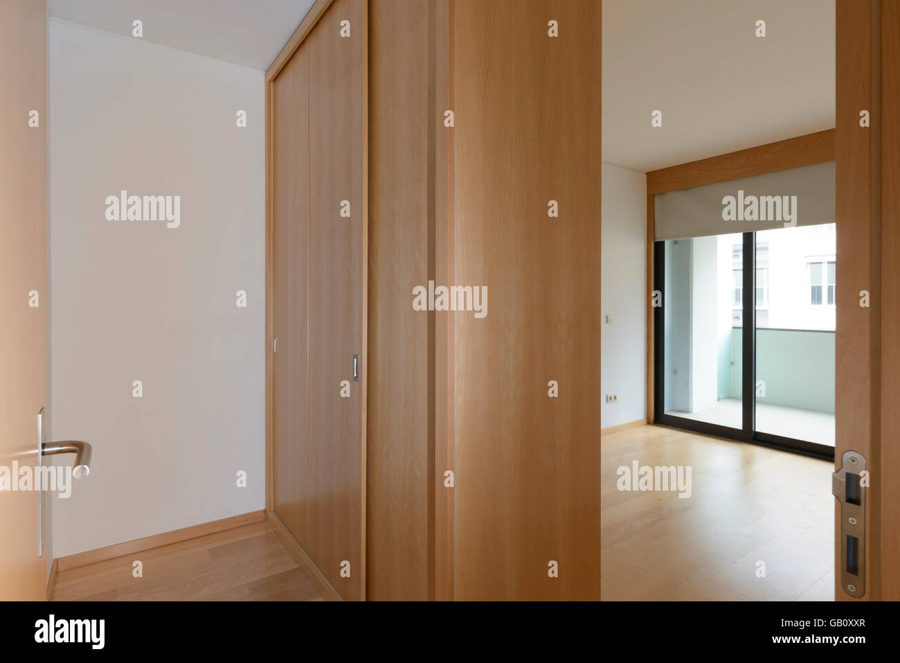 Superieur Empty Bedroom With Big Closet   Stock Image