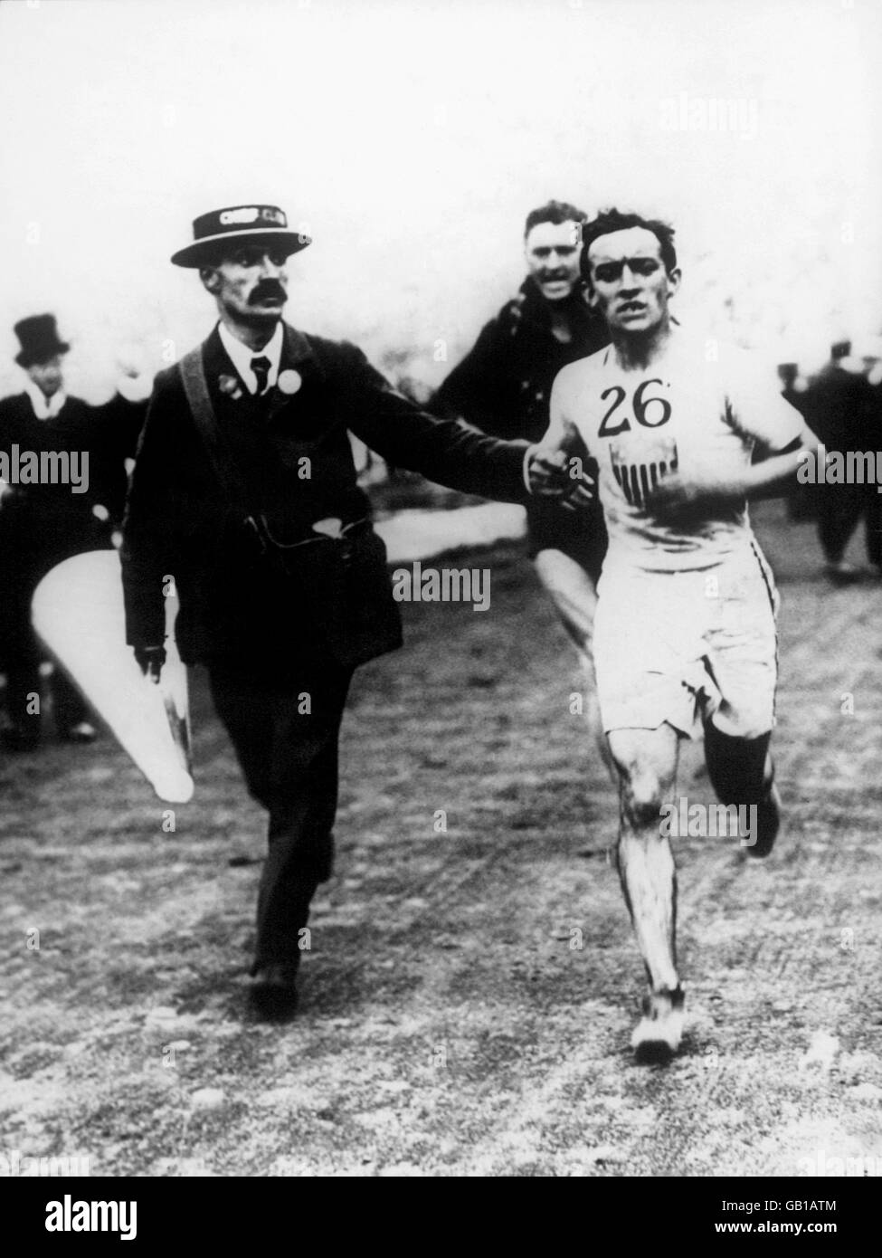 Athletics - London Olympic Games - Marathon - Stock Image