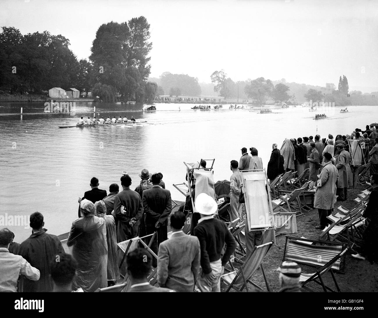 London Olympic Games 1948 - Rowing - Henley Stock Photo - Alamy