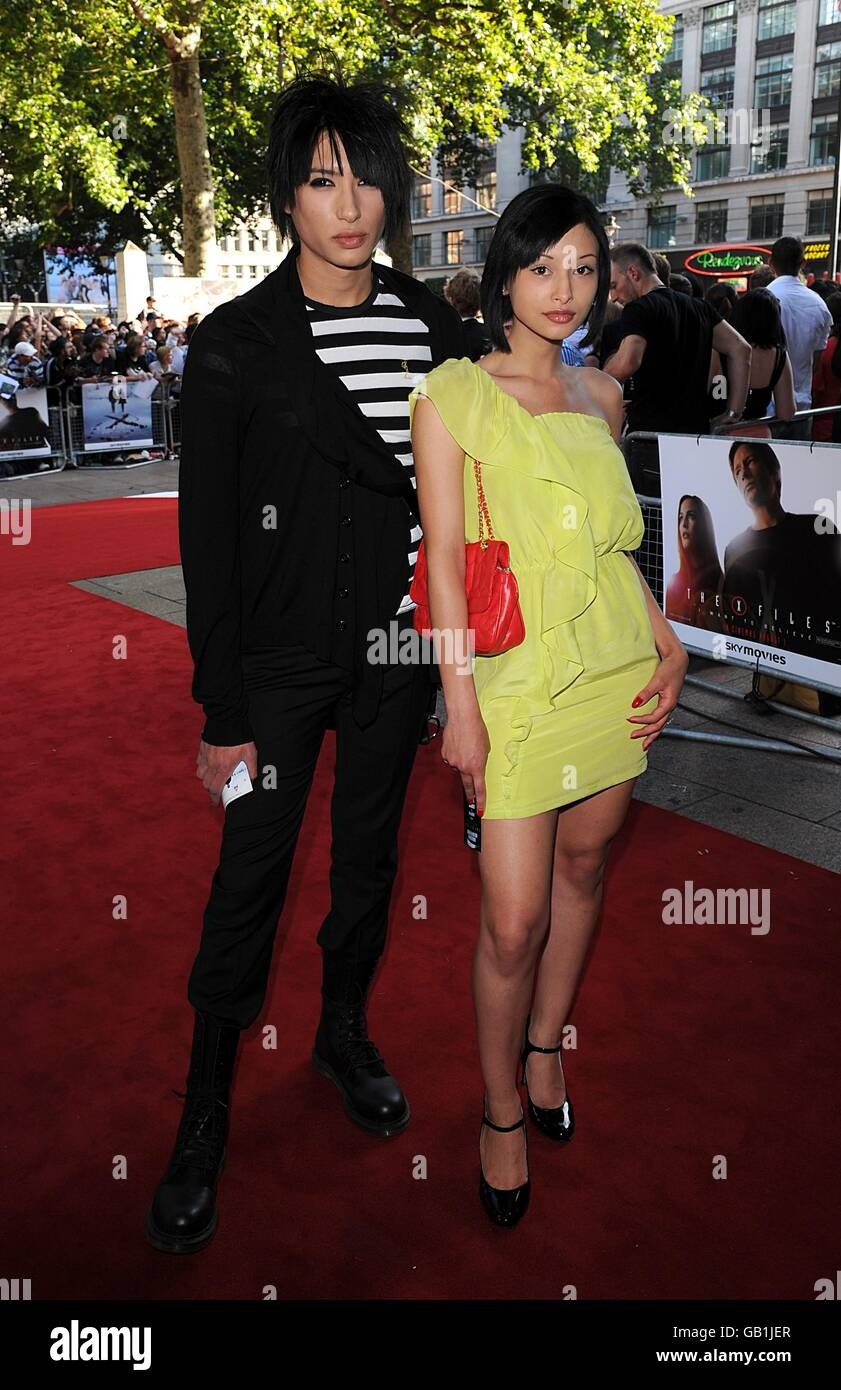 The X Files: I Want to Believe - UK Premiere - London - Stock Image