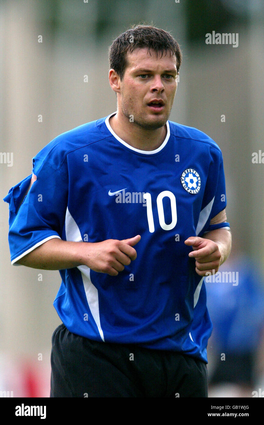 0c17a401145 Soccer - Baltic Cup 2003 - Estonia v Lithuania - Stock Image