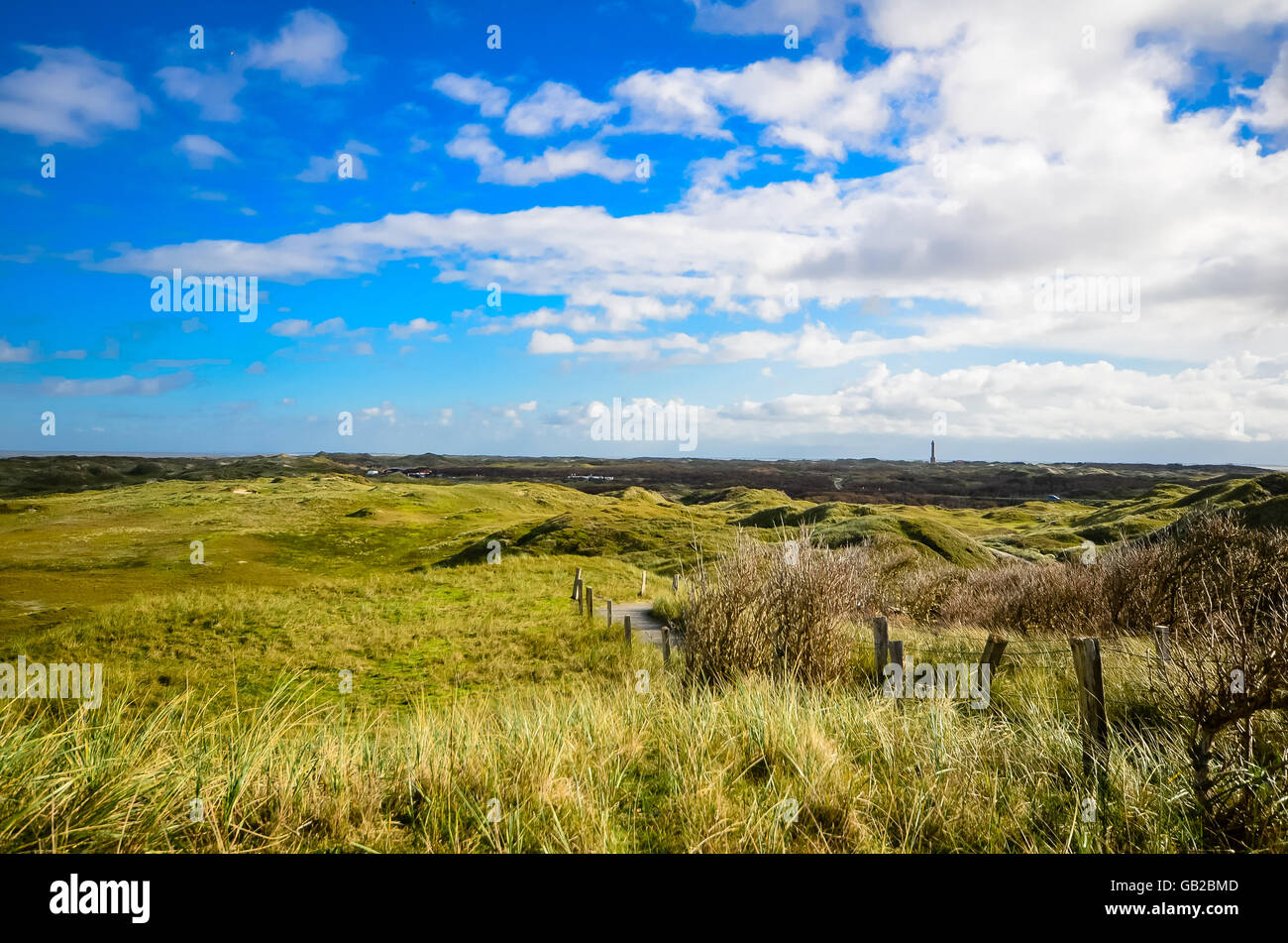 View on Norderney, Germany Stock Photo