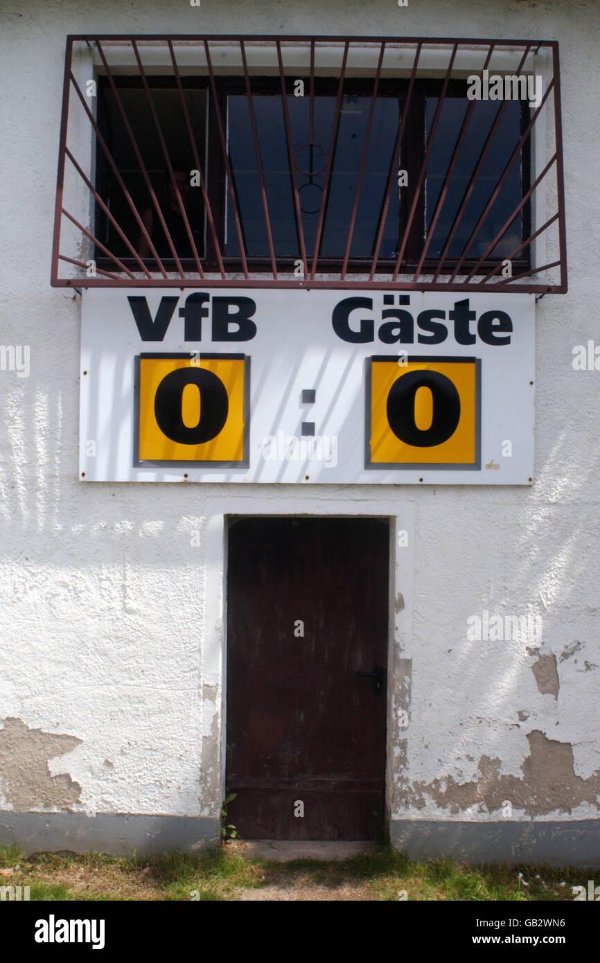 Soccer - Friendly - VFB Auerbach v Glasgow Rangers - Stock Image