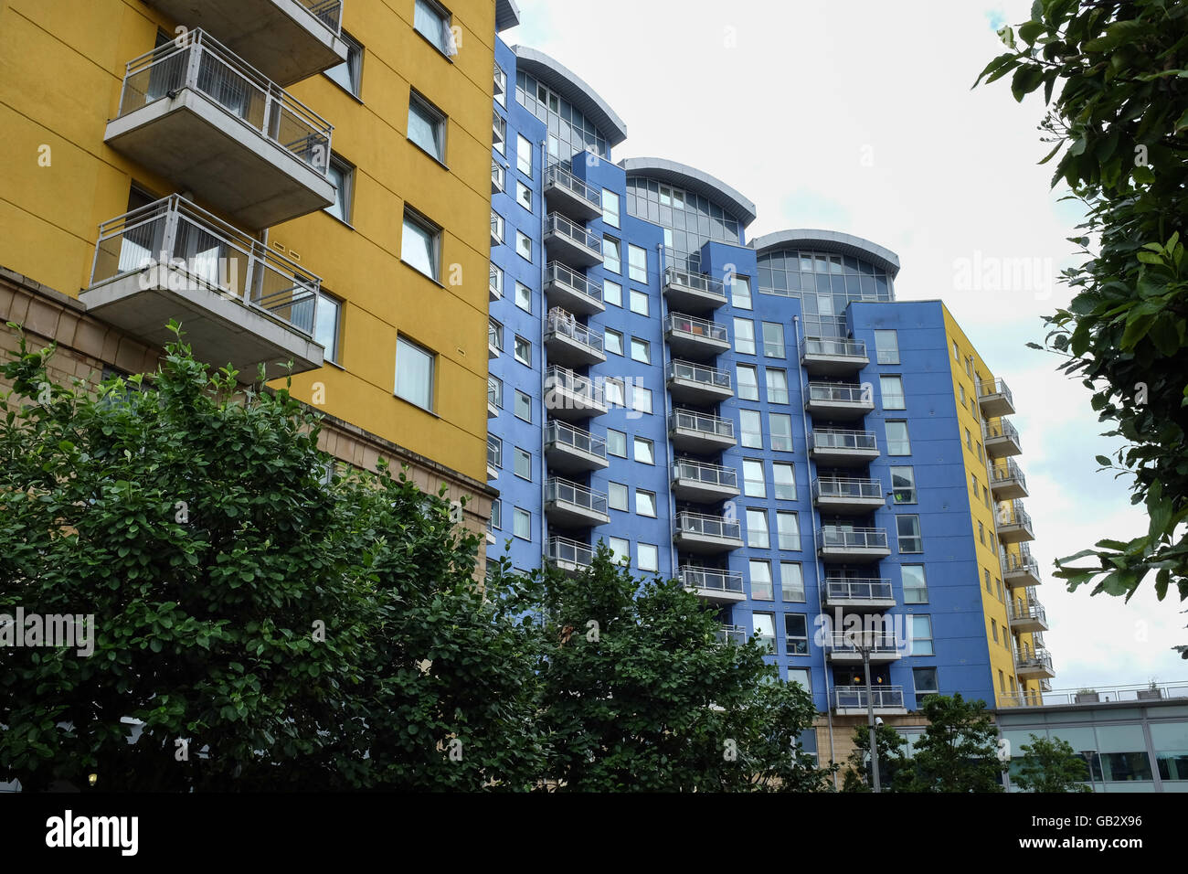 Crown Heights accommodation in Basingstoke, England. - Stock Image